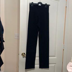 NWT American Apparel black yoga pant L